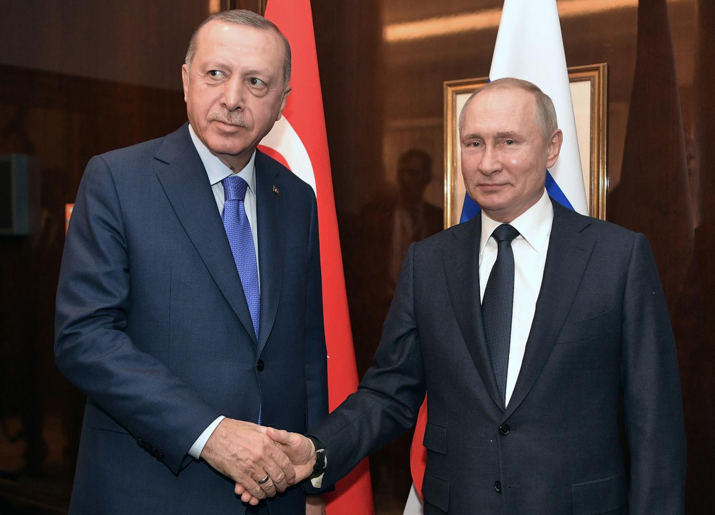 بوتين وأردوغان سيبحثان في موسكو إجراءات مشتركة لوقف إطلاق النار في إدلب