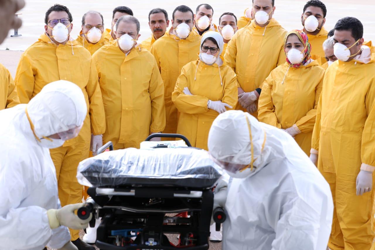 مصر تعلن نتيجة تحليل 1904 حالات مشتبه في إصابتها بفيروس كورونا