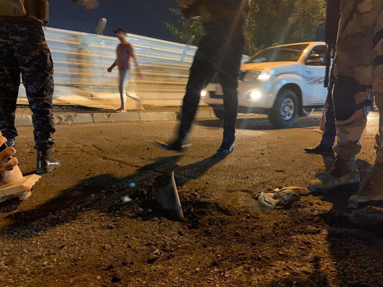 العراق.. تعرض المنطقة الخضراء وسط بغداد إلى قصف صاروخي (صور)