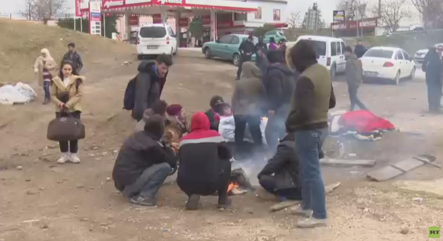 تواصل تدفق المهاجرين إلى الحدود اليونانية