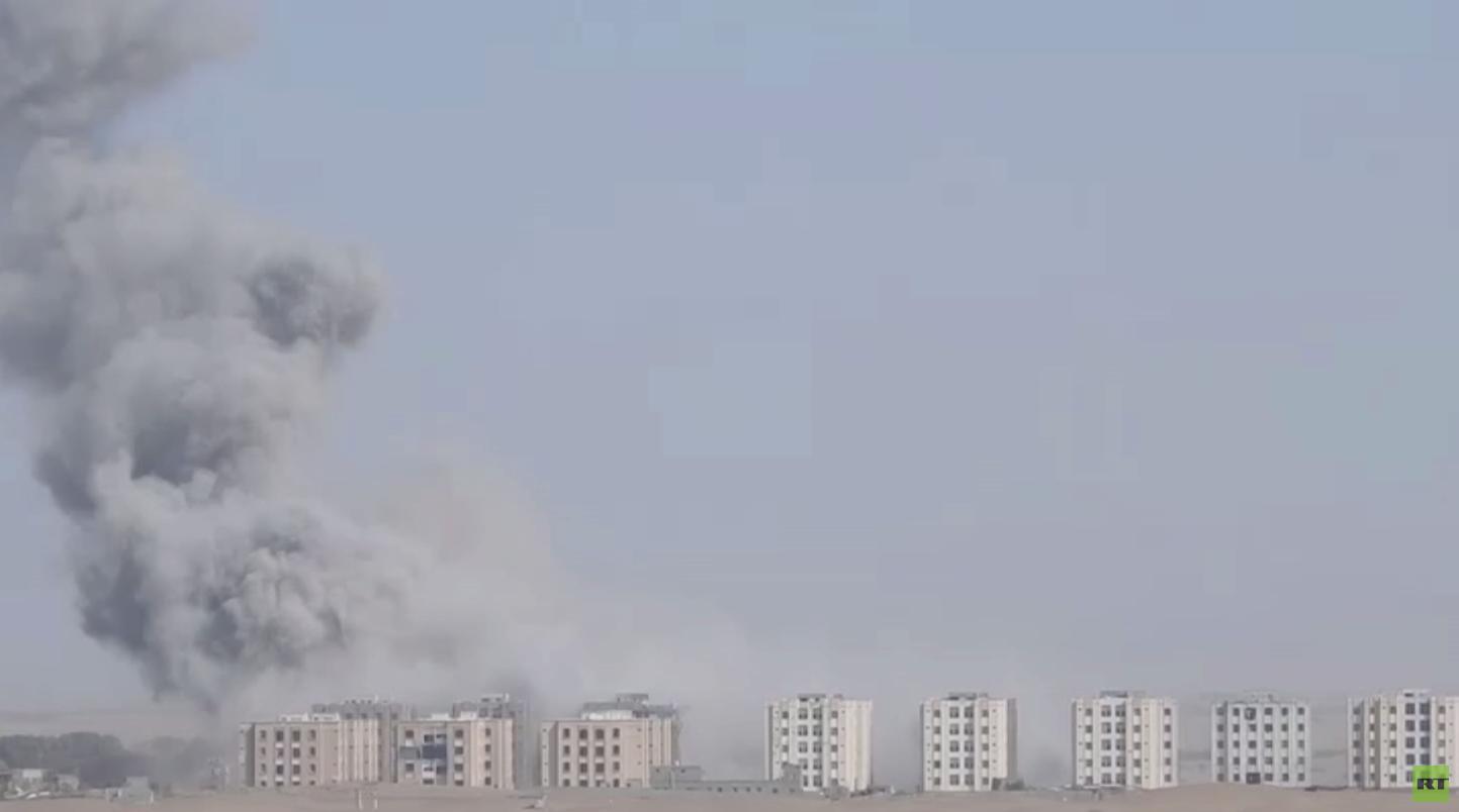 مصدر أمني: تدمير مدرسة بغارات للتحالف بمأرب
