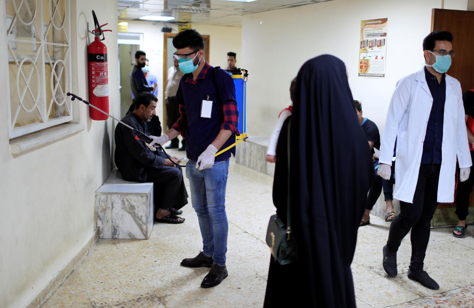 إجراءات وقائية من فيروس كورونا في العراق