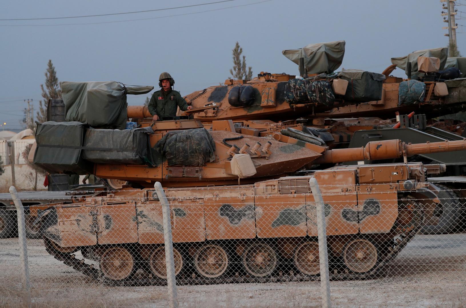 عنصر من الجيش التركي في شمال سوريا