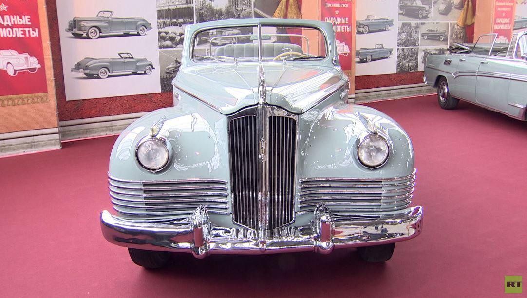 شاهد.. سيارة ستالين الخاصة في معرض بموسكو