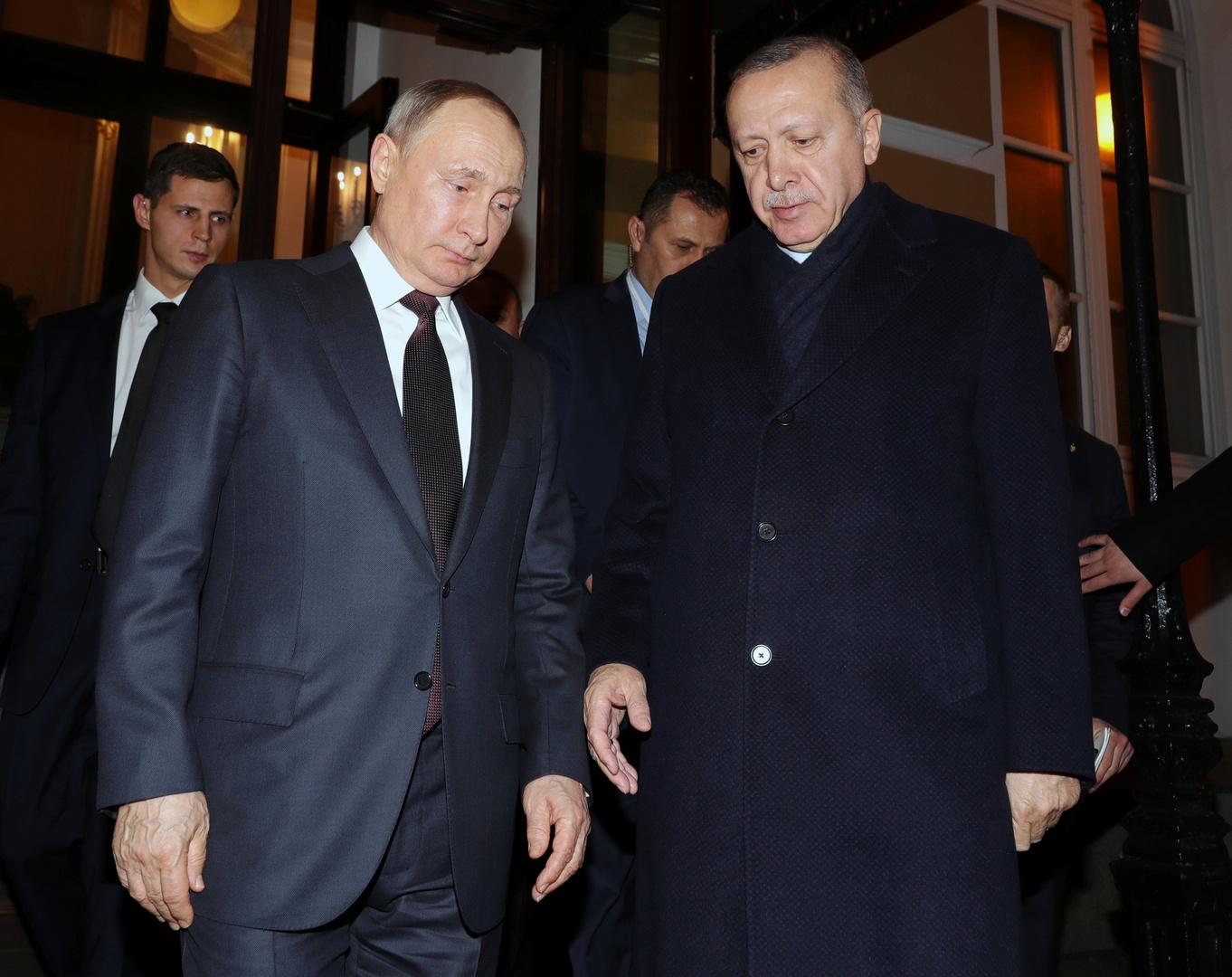 من كسب من لقاء بوتين وأردوغان
