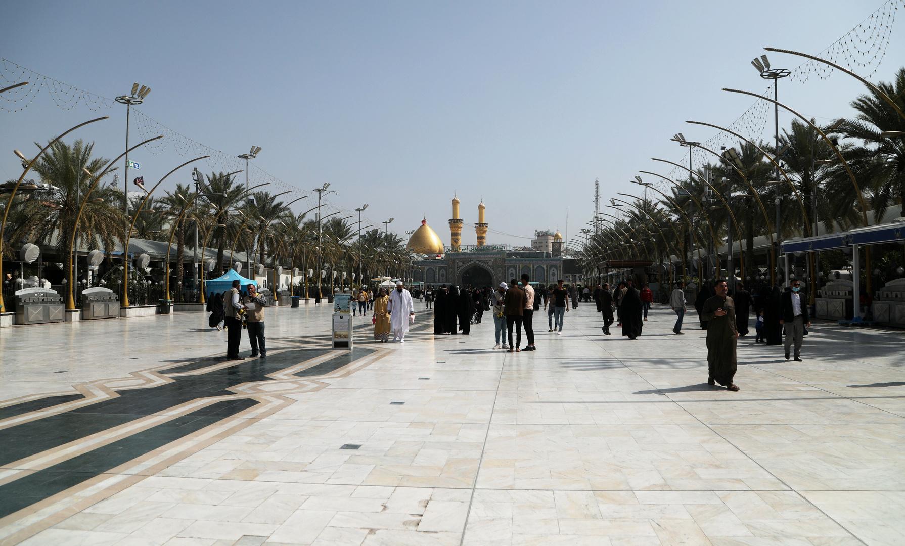 إلغاء صلاة الجمعة في كربلاء للأسبوع الثاني على التوالي