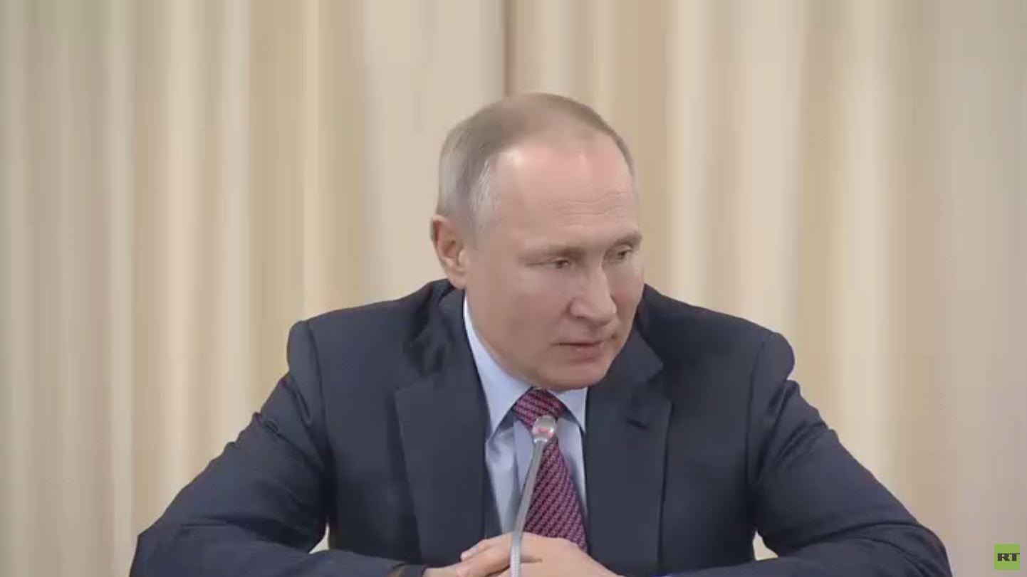 بوتين: سنجتاز التقلبات الاقتصادية الراهنة