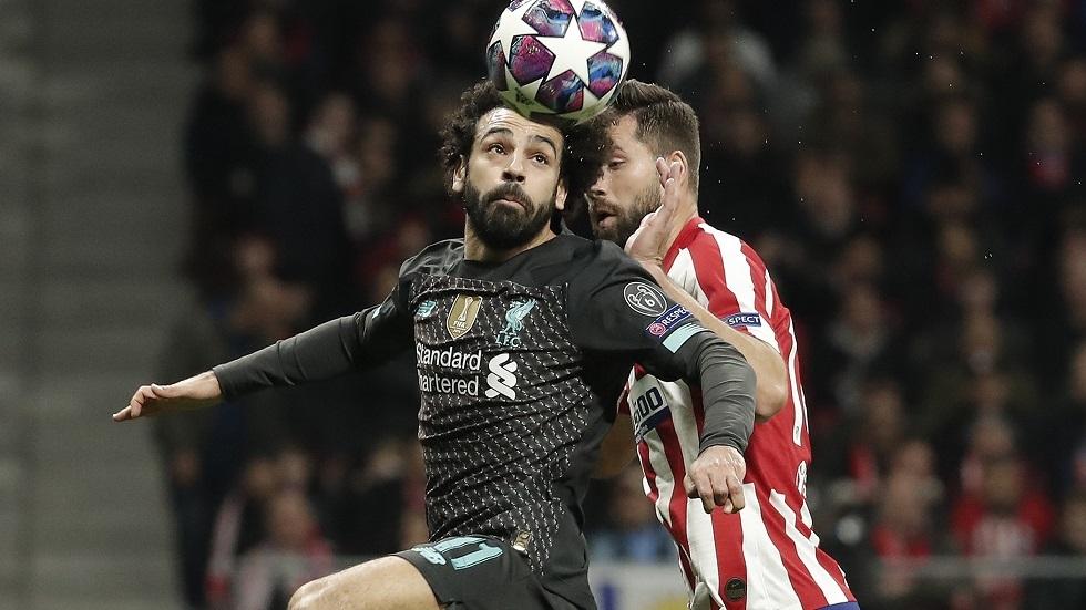 التشكيلة الأساسية لمواجهة ليفربول وأتلتيكو مدريد في دوري الأبطال