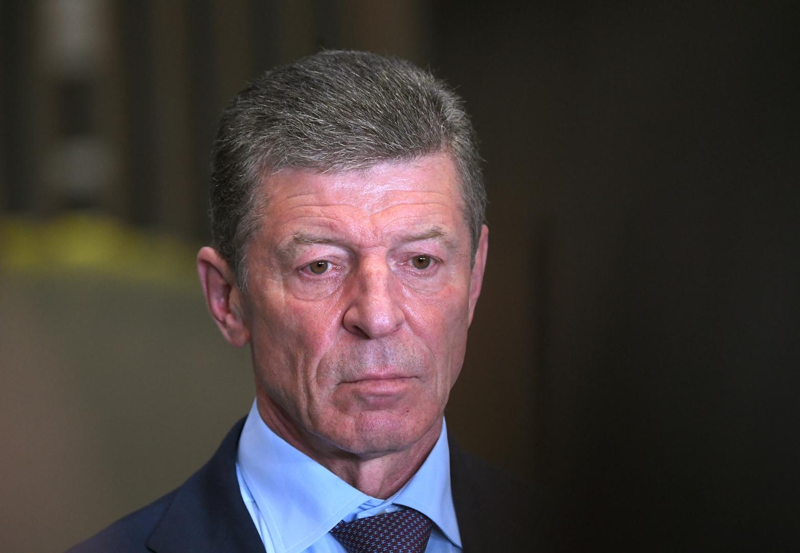 نائب رئيس إدارة الرئاسة الروسية، دميتري كوزاك