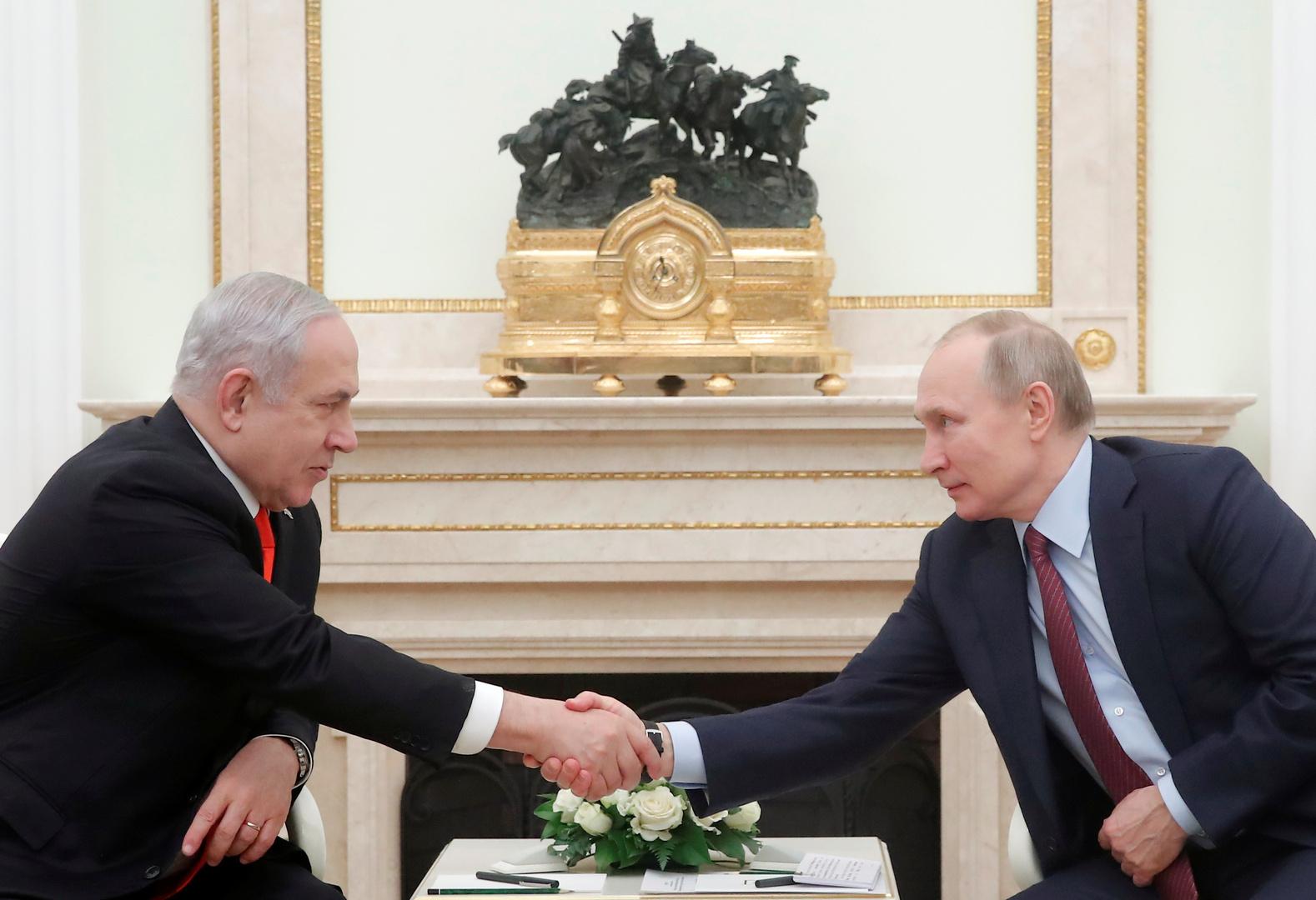 الناقل الروسي لسياسة إسرائيل الخارجية