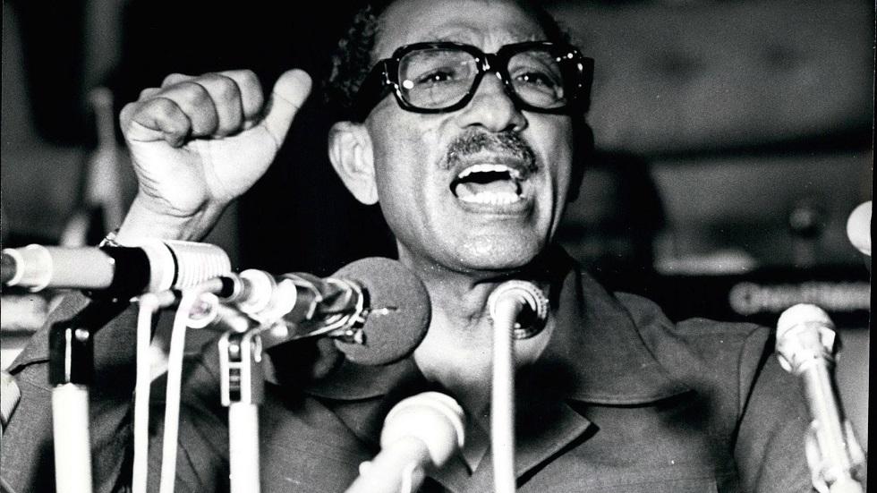 الرئيس المصري الراحل محمد أنور السادات (1918-1981)