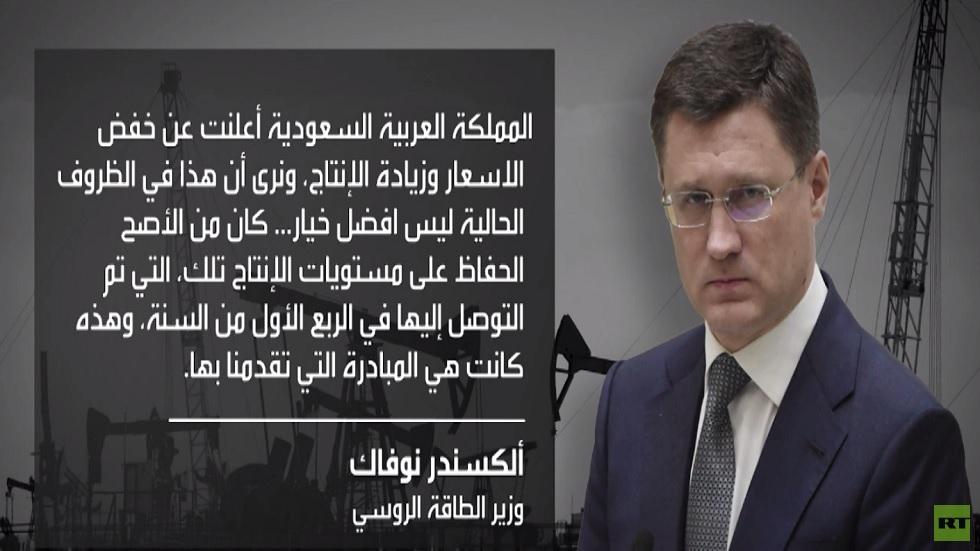 بيسكوف: بوتين قد يتواصل مع شركائنا حول النفط