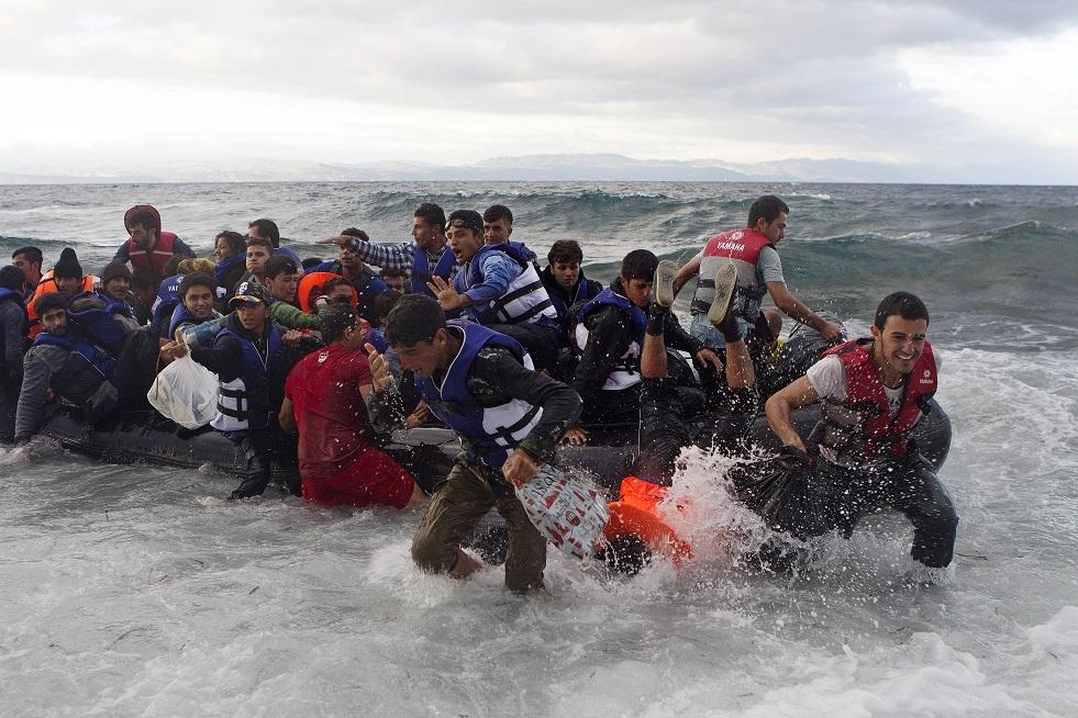 منظمة إنسانية: توقف تدفق المهاجرين سببه سوء الطقس لا كورونا