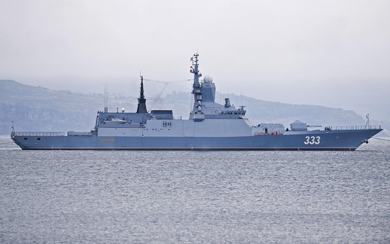 الأسطول الروسي يتسلم سفينة قتالية متطورة