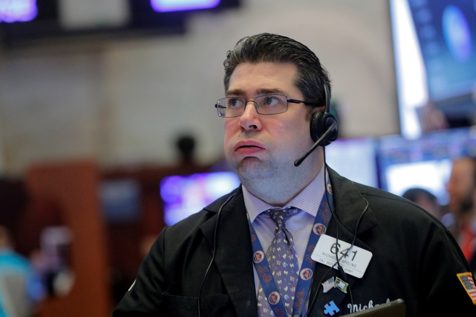 البورصة الأمريكية تسجل خسائر فادحة