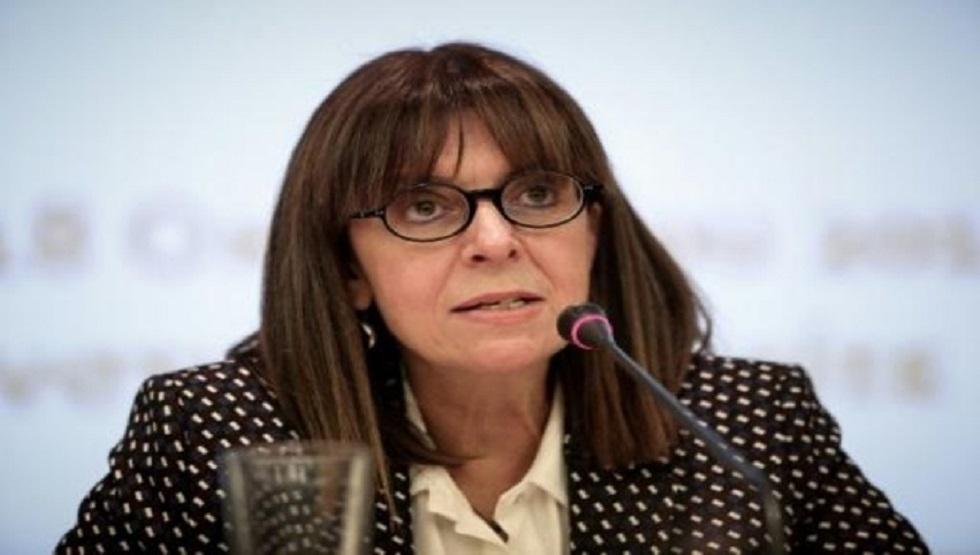 القاضية إيكاتيريني ساكيلاروبولو في صورة أرشيفية