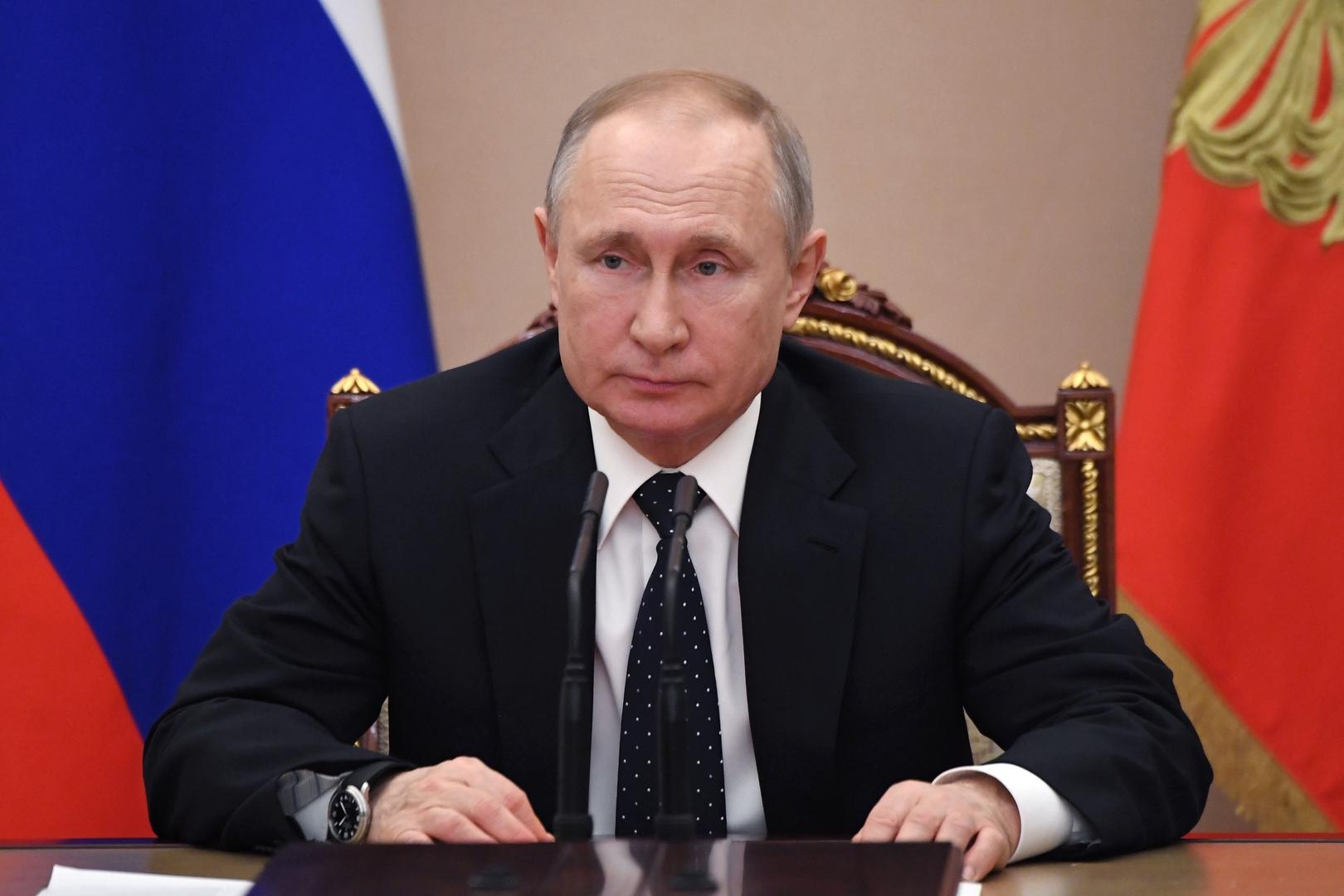 بوتين يوقع على قانون التعديلات الدستورية