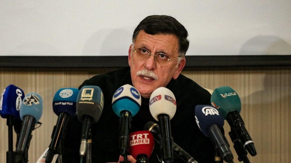 رئيس حكومة الوفاق الوطني الليبي فايز السراج