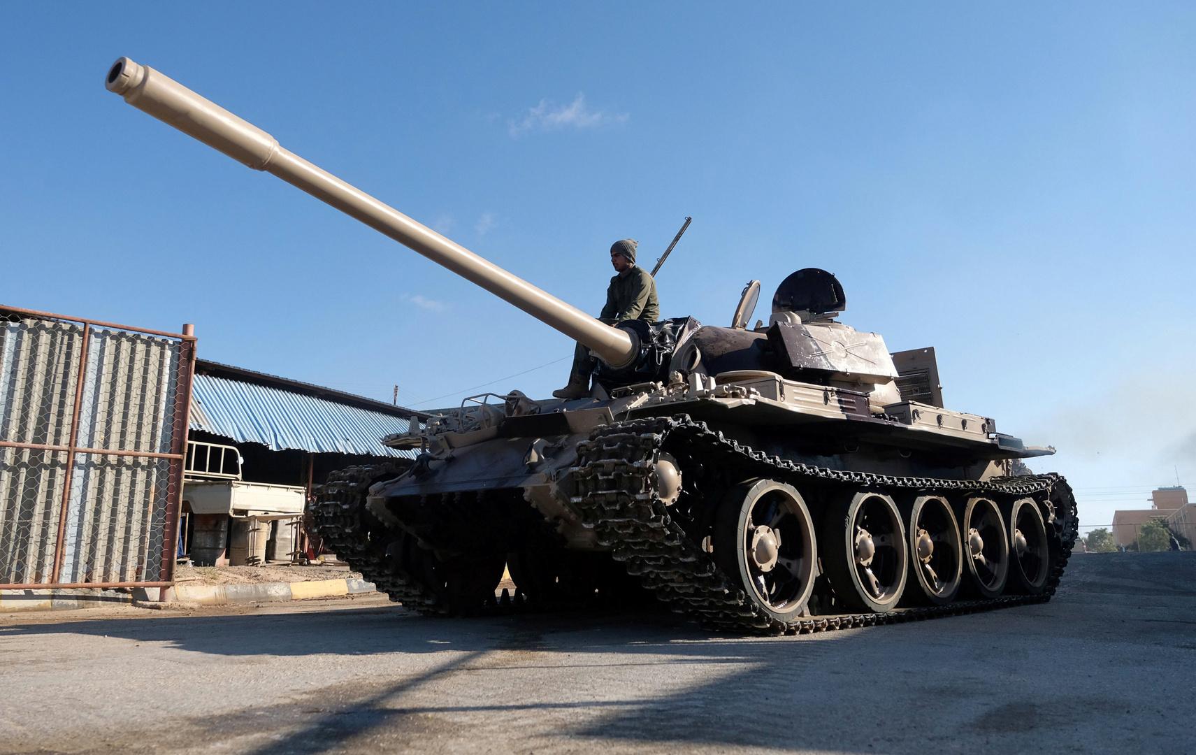 دبابة تابعة لـ