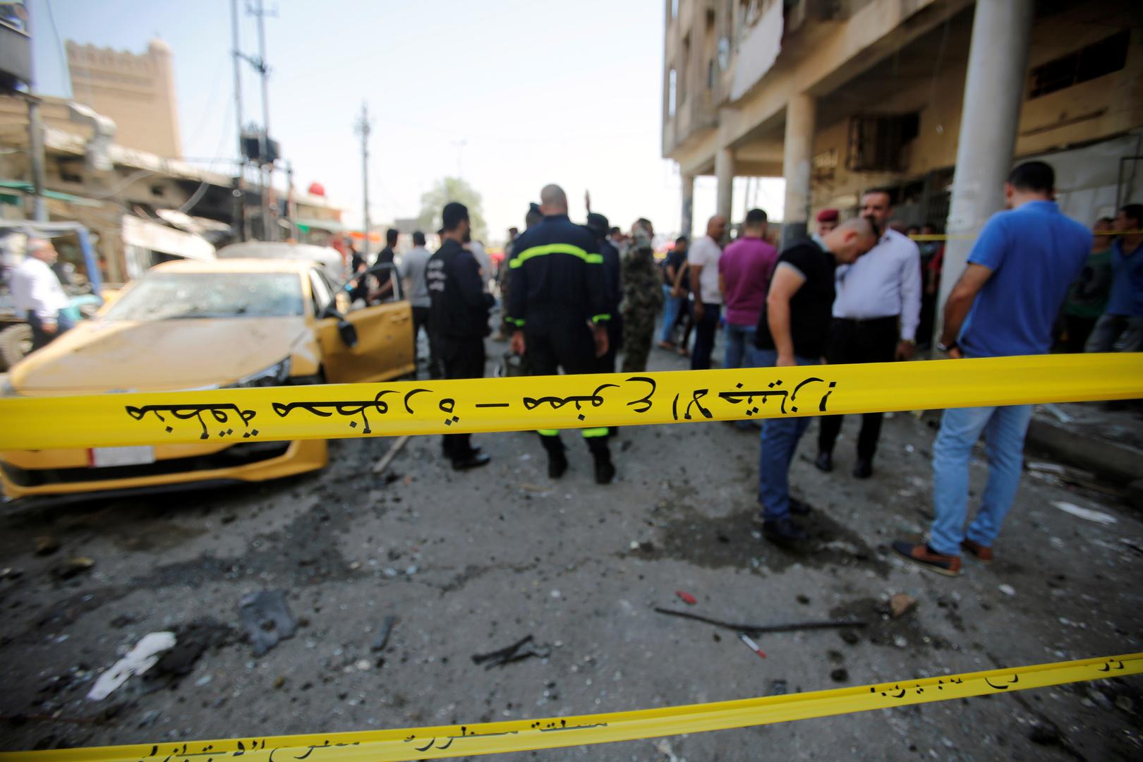 إصابة سبعة مدنيين بتفجير دراجة نارية شمالي العراق