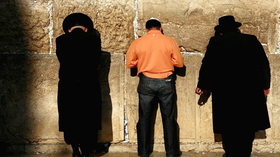 يهود عند حائط البراق بالقدس - أرشيف