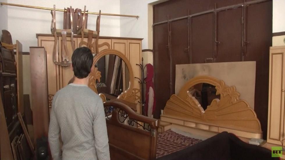 تزايد الإقبال على شراء الأثاث المستعمل بغزة