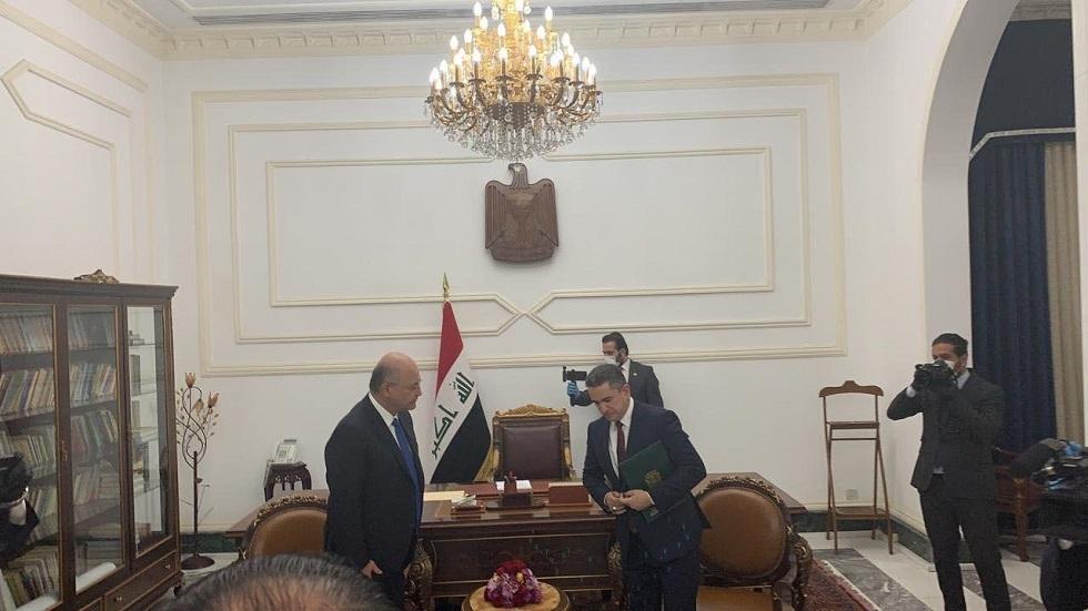 مراسلنا: الرئيس العراقي يكلف عدنان الزرفي بتشكيل الحكومة العراقية