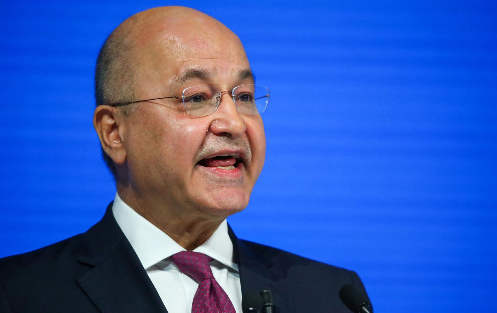 صالح للزرفي: حقق تطلعات العراقيين واعمل على إجراء انتخابات مبكرة