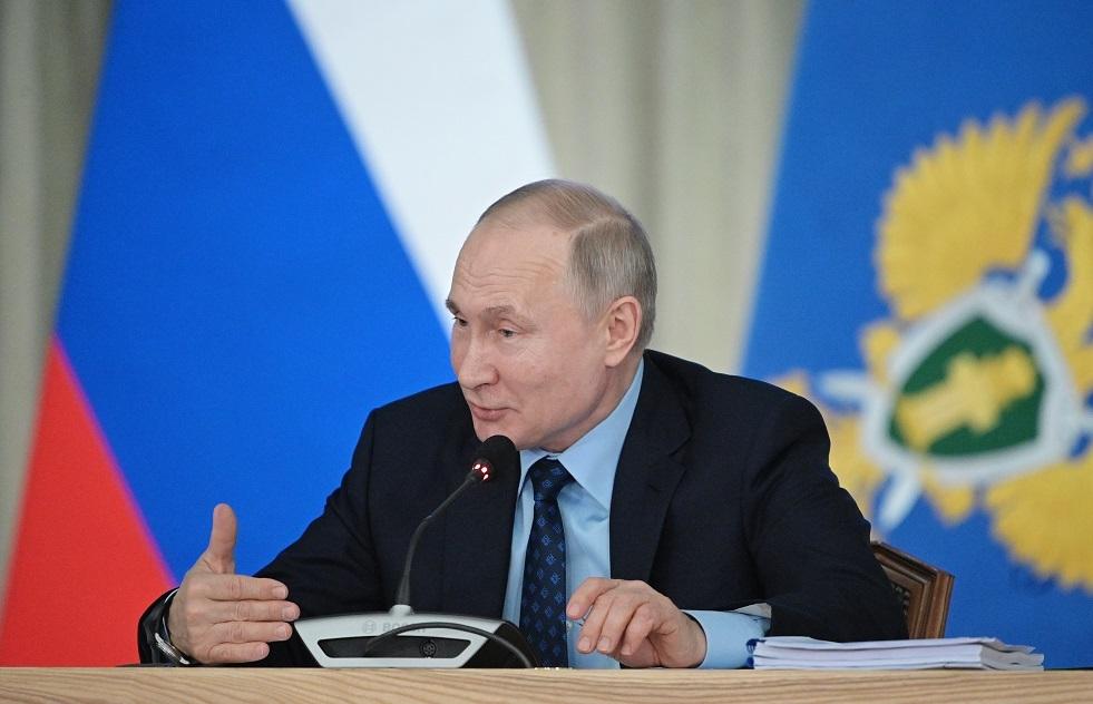 بوتين: لدينا كل ما يلزم لإنتاج لقاح كورونا والوضع في روسيا تحت السيطرة