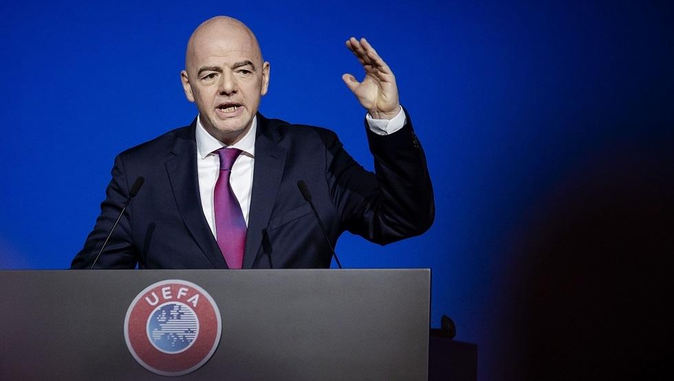 رئيس الفيفا: يتعين تغيير موعد كأس العالم للأندية 2021 بعد تأجيل بطولة أوروبا 2020