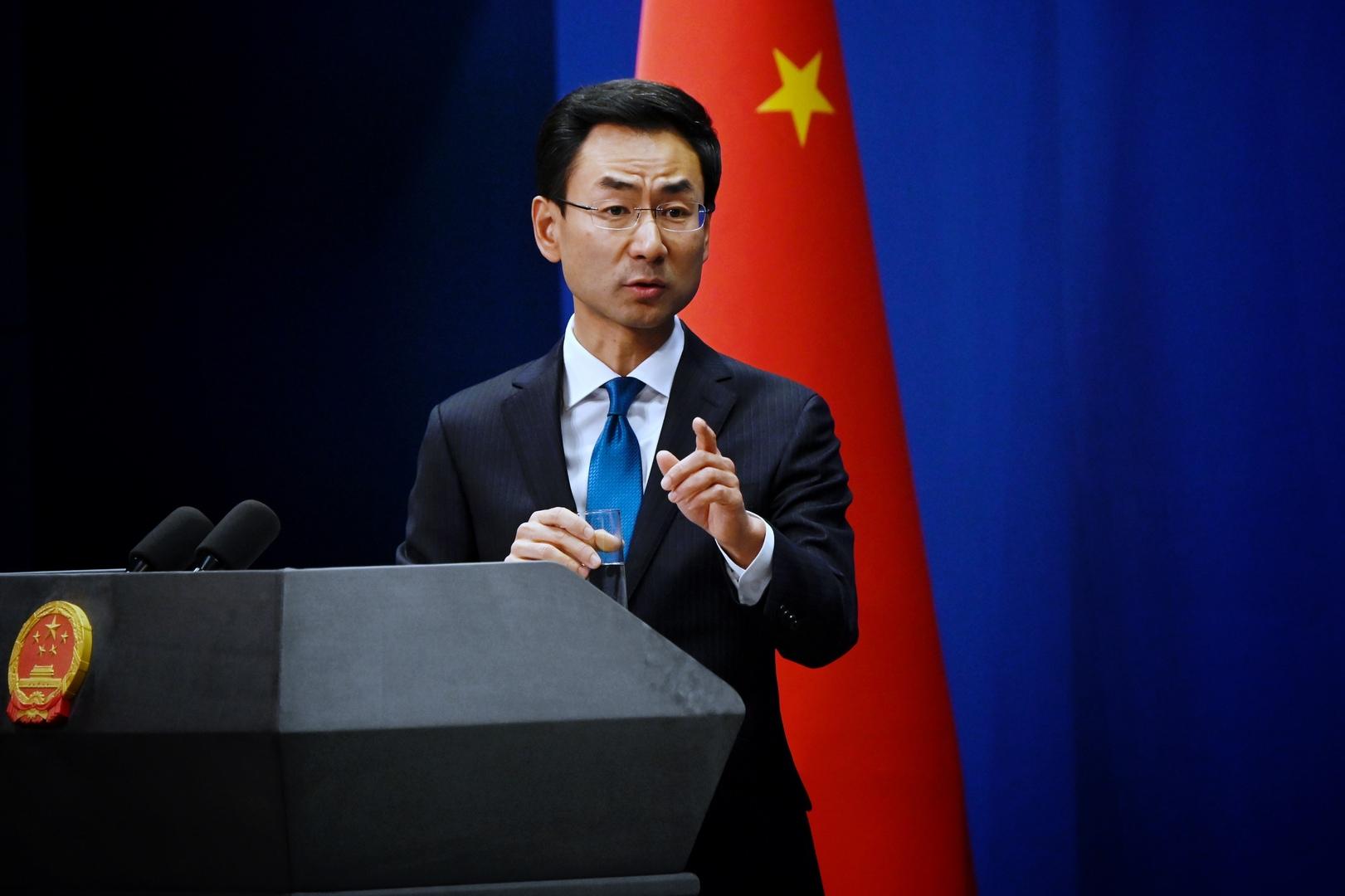 المتحدث باسم الخارجية الصينية، غين شوان