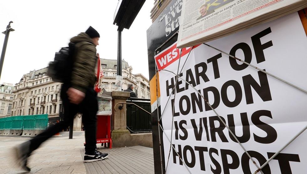 كورونا في بريطانيا.. عدد الضحايا يتجاوز الـ 100