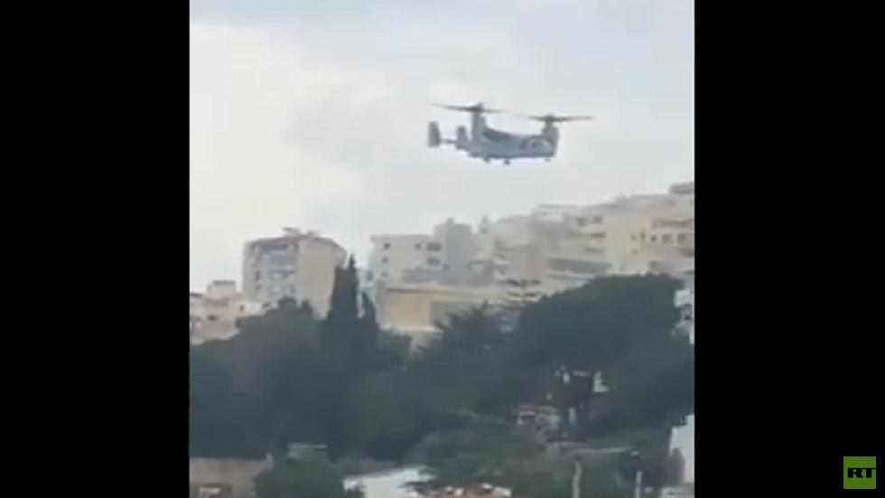 مروحية أمريكية تقوم بإخراج أحد أبرز عملاء إسرائيل من بيروت وترامب يشكر حكومة لبنان لـ