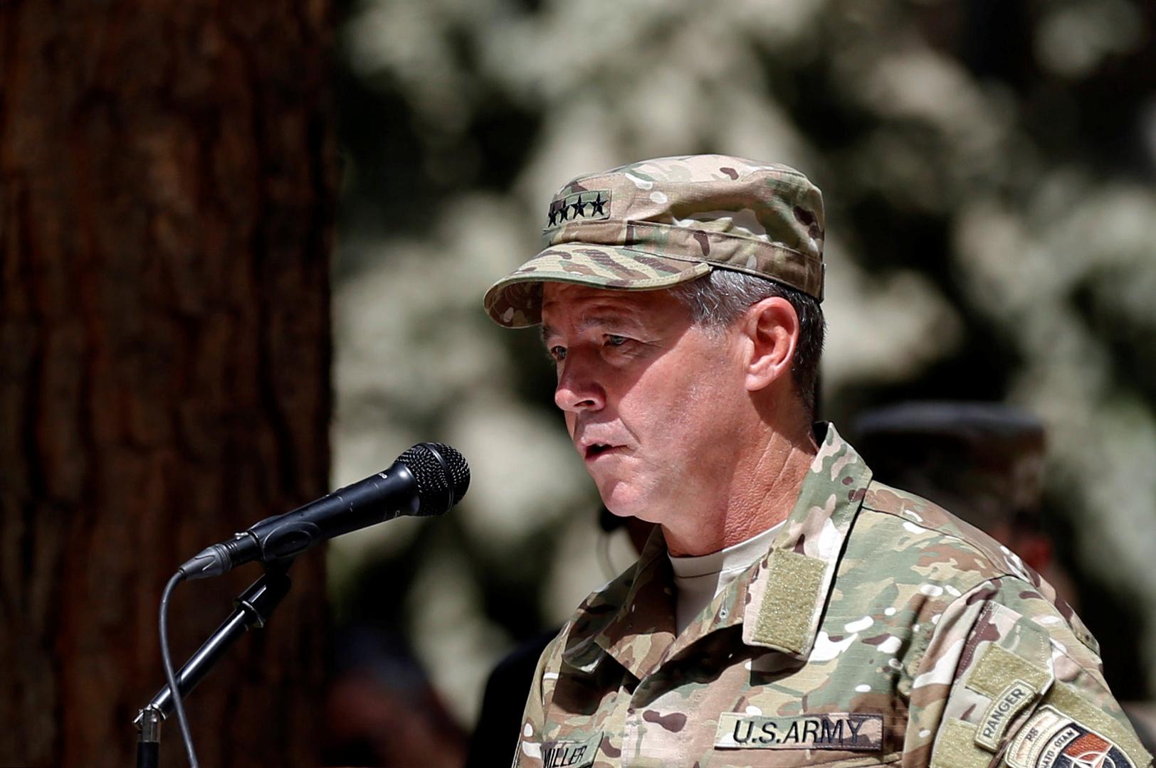 قائد الناتو في أفغانستان سكوت ميلر