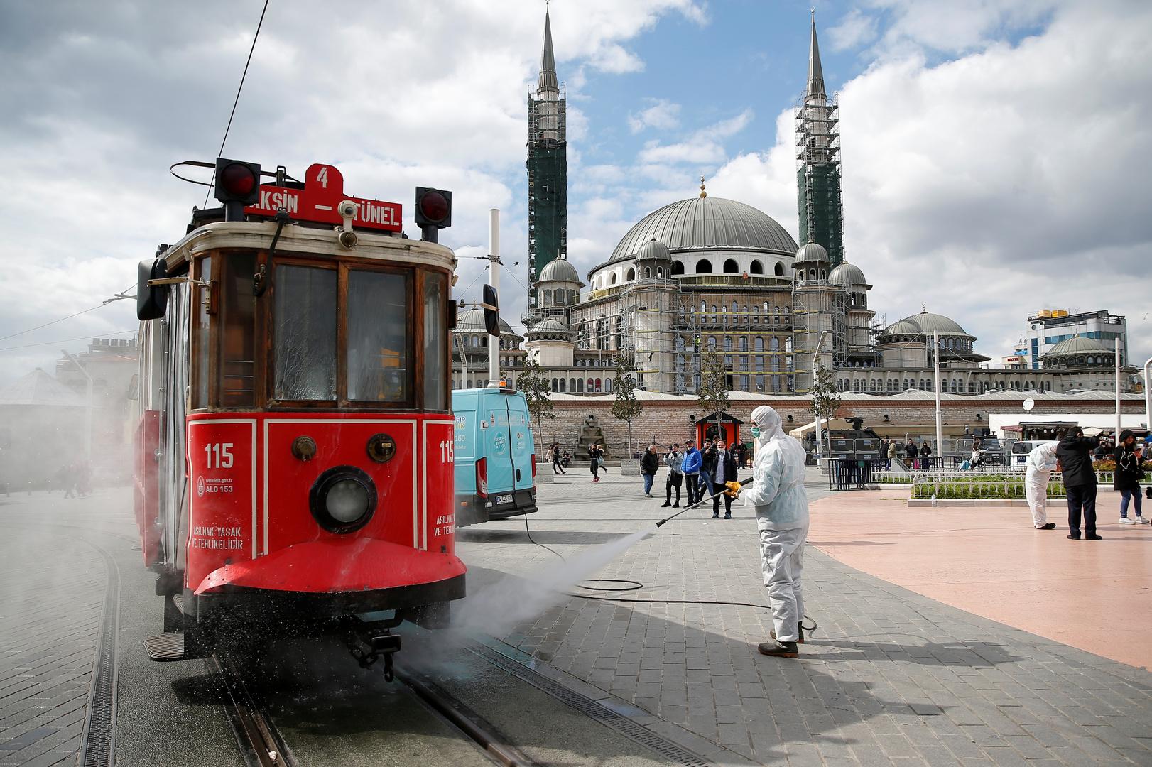 تسجيل 168 إصابة جديدة بفيروس كورونا في تركيا - RT Arabic