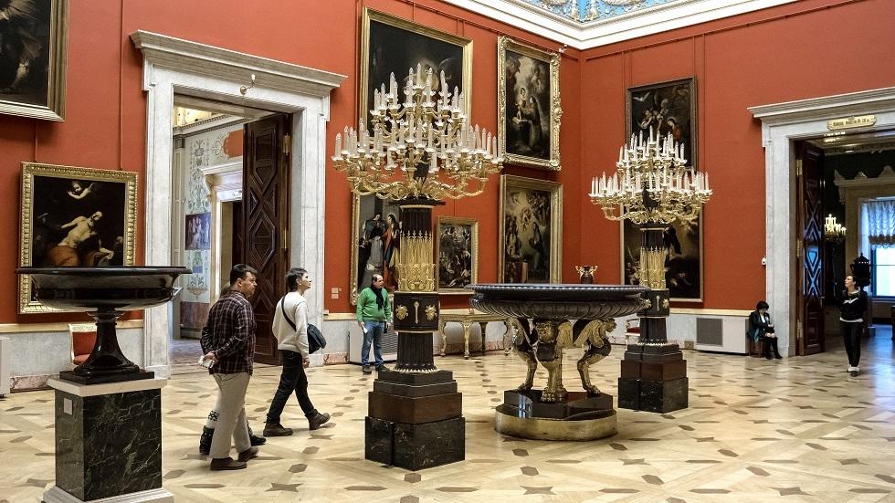 خدمة جديدة لرؤية مقتنيات متاحف روسيا وأنت في المنزل