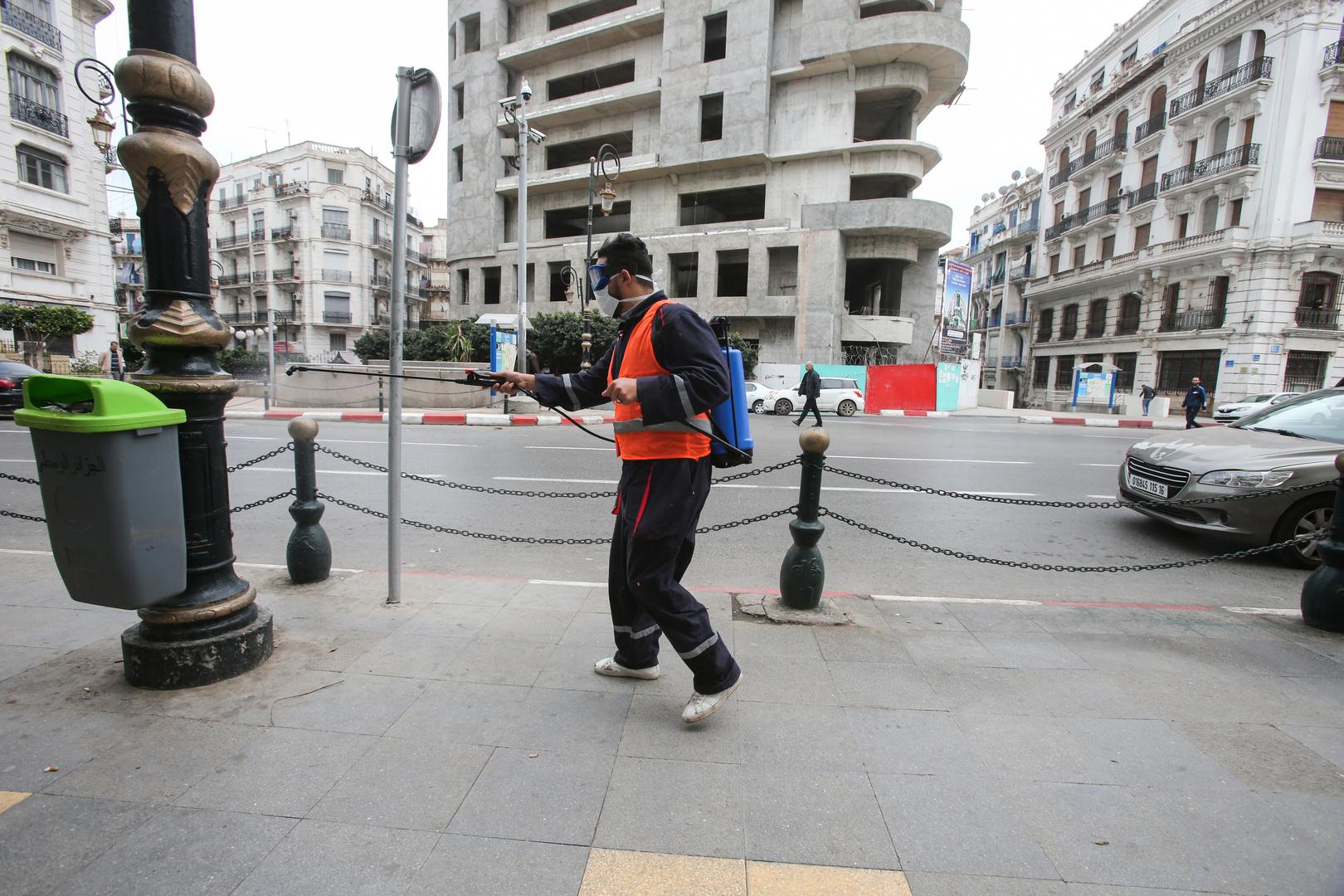الجزائر .. 12 حالة وفاة بسبب فيروس كورونا