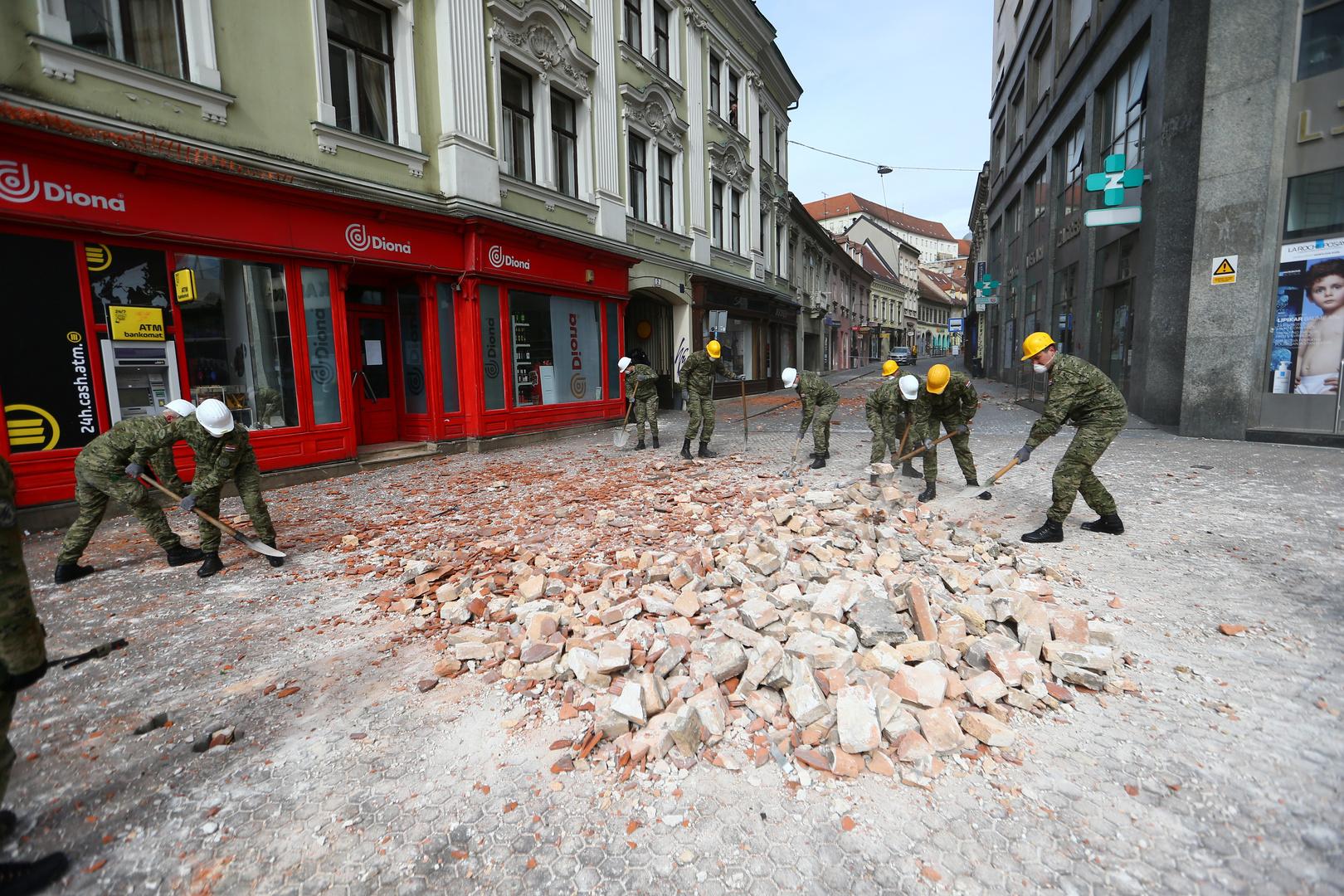 بالتزامن مع أزمة كورونا.. أقوى زلزال منذ أكثر من قرن يهز عاصمة كرواتيا