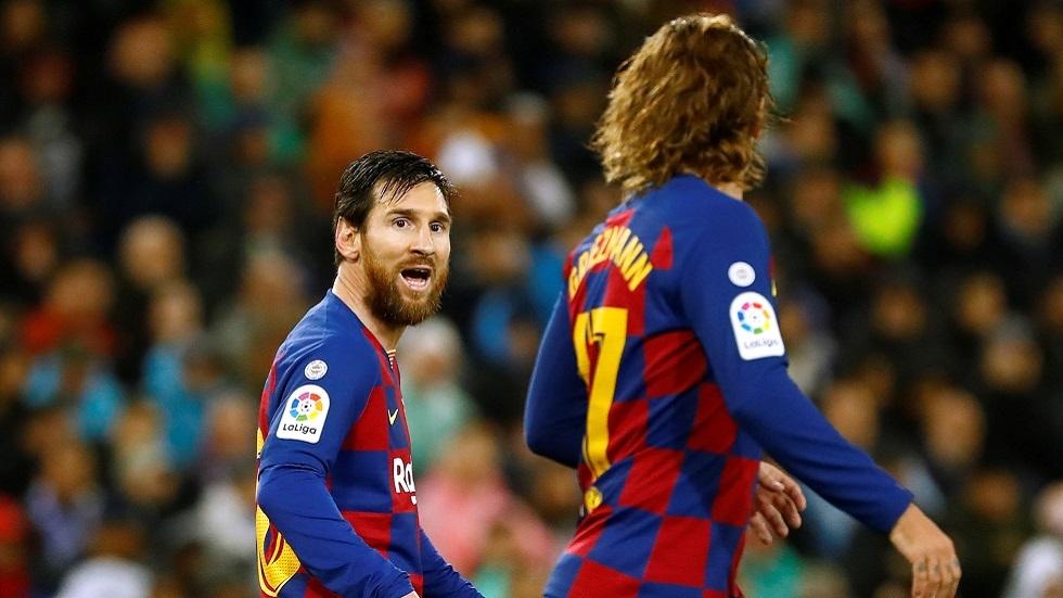 ما حقيقة رحيل غريزمان عن برشلونة  بعد جلسة تصوير مع ميسي؟