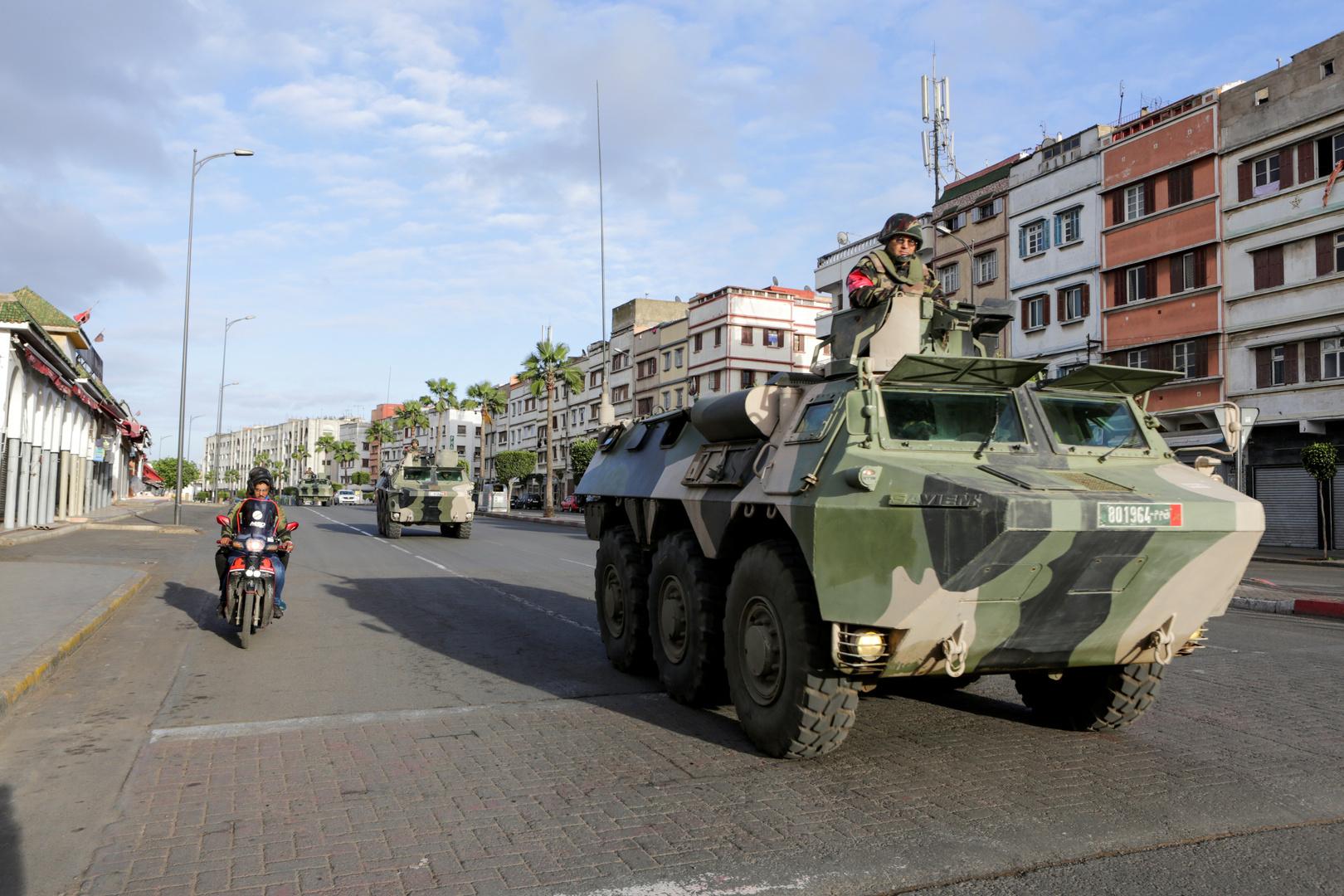 الأمن المغربي في شوارع المملكة