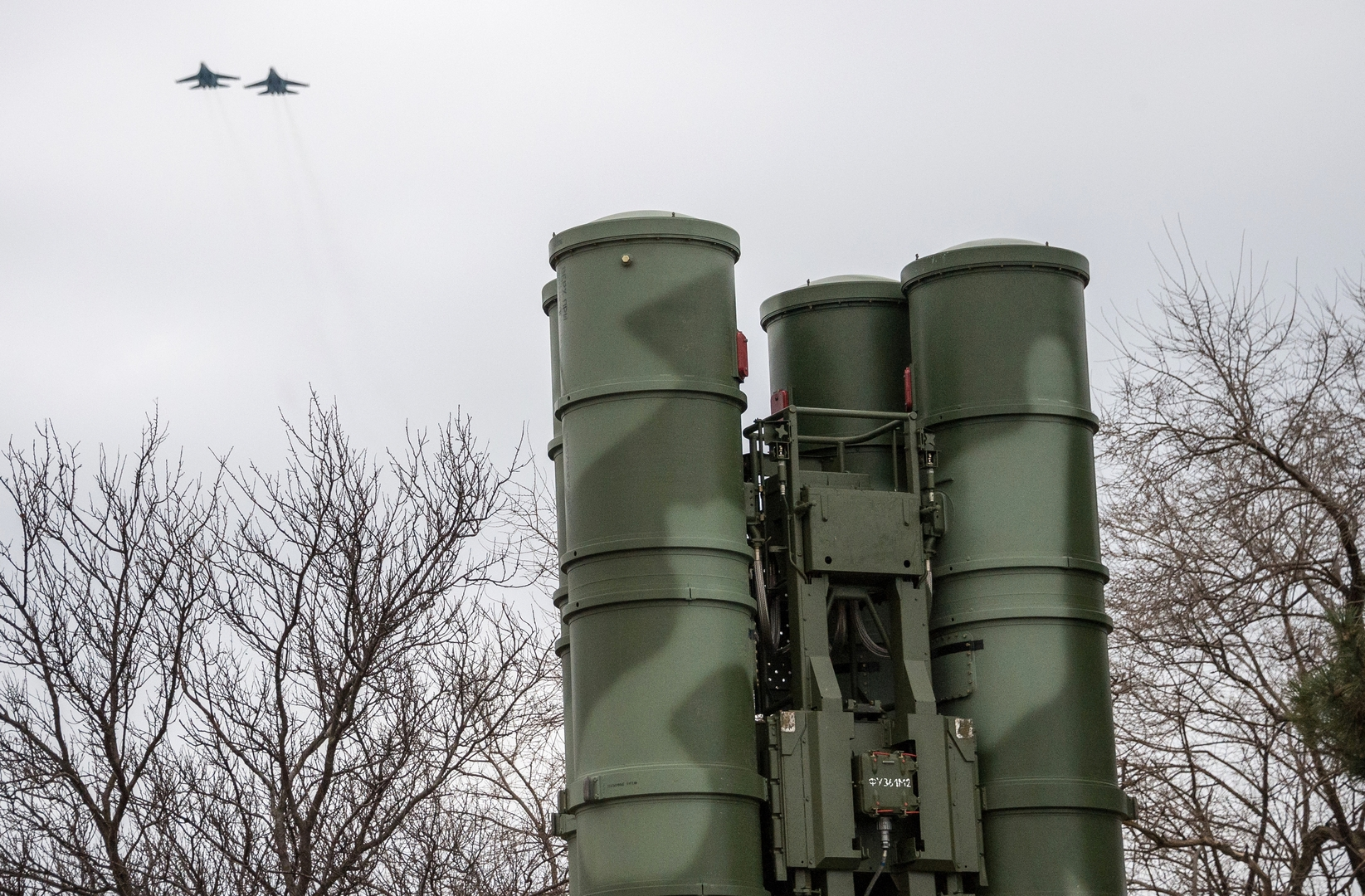 صورة من الأرشيف - منظومة الدفاع الجوي الروسية