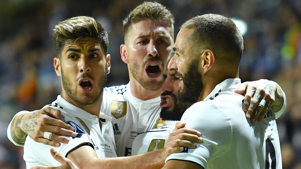 نجم ريال مدريد  يقدم لقبا مختلفا للملكي (صور)
