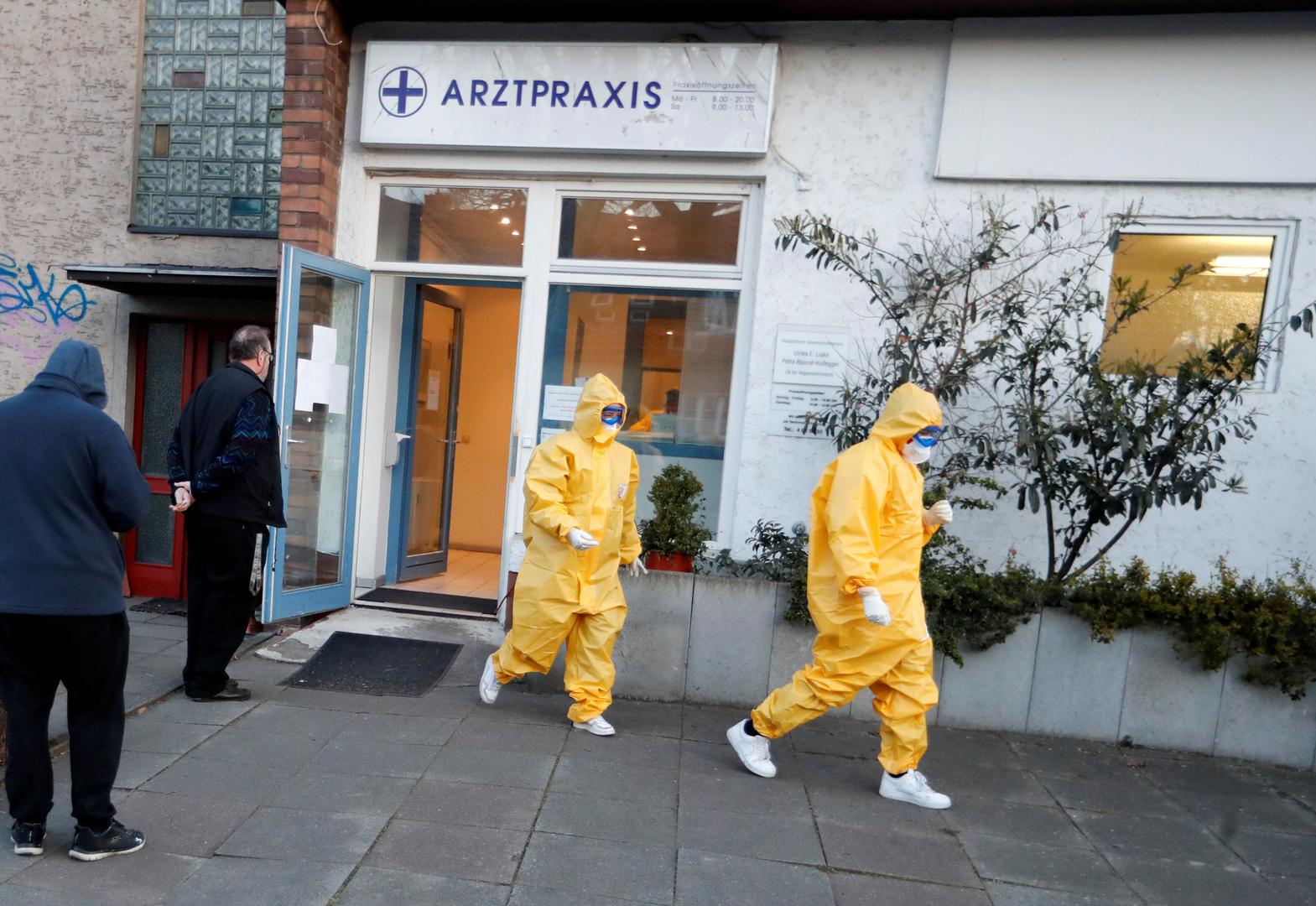 ألمانيا: ارتفاع عدد الإصابات بكورونا إلى 22672 إصابة والوفيات إلى 86 حالة وفاة