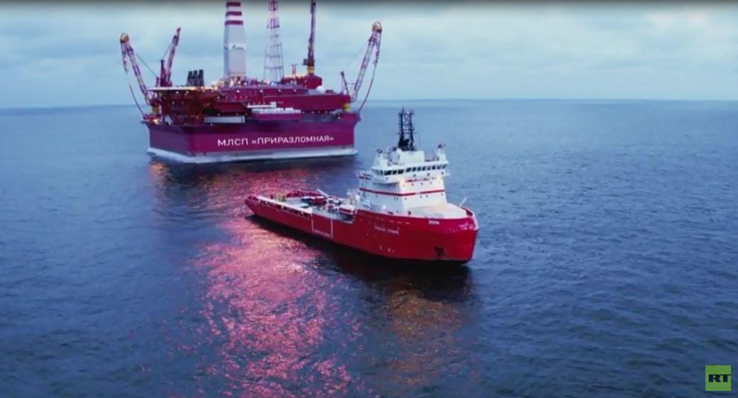 روسيا تستخرج النفط والغاز في القطب الشمالي بعد استكشاف احتياطيات ضخمة هناك