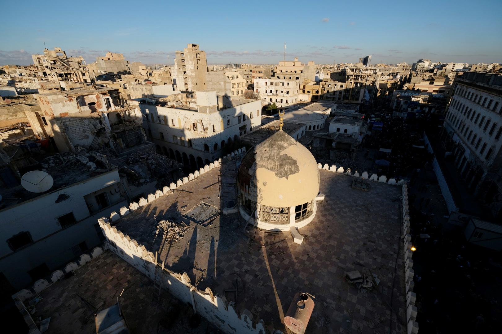 مدينة بنغازي (صورة من الأرشيف)
