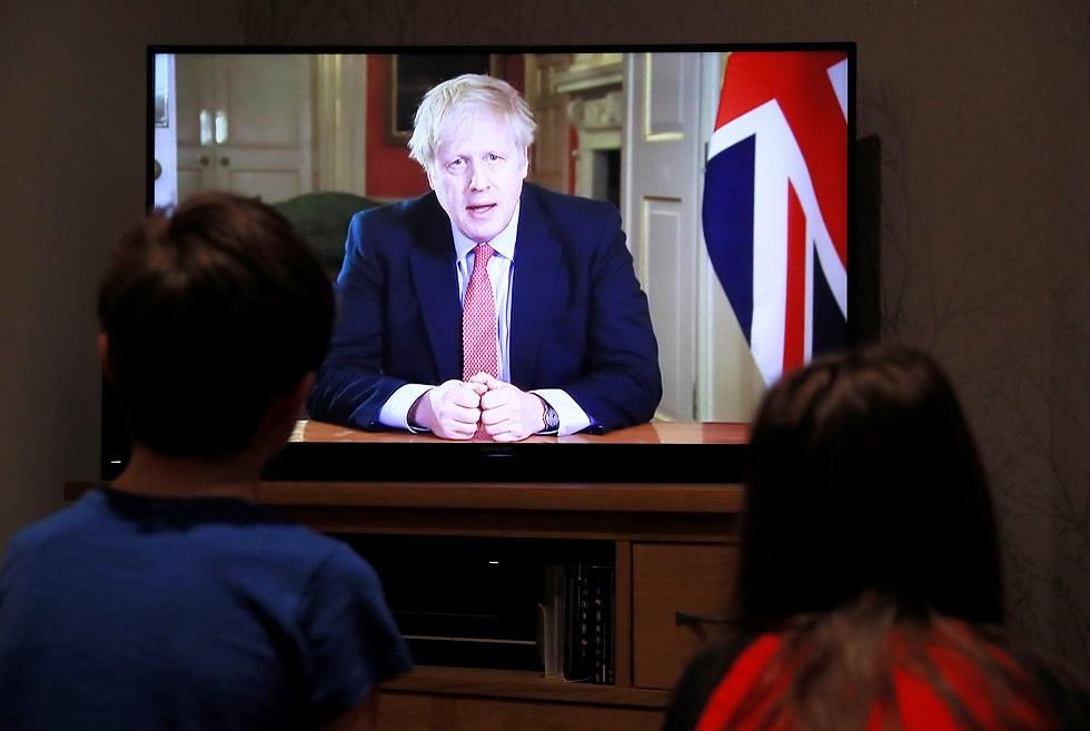 Corona ... Johnson understreger behovet for, at briterne forbliver i deres hjem
