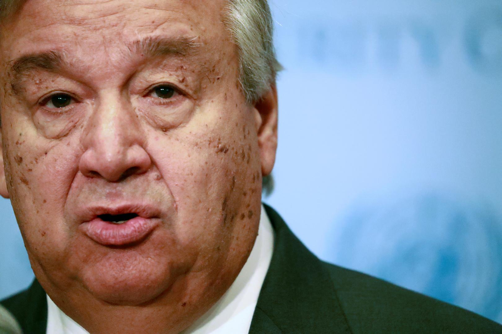 غوتيريش يدعو زعماء G20 إلى رفع العقوبات التي تعرقل محاربة كورونا
