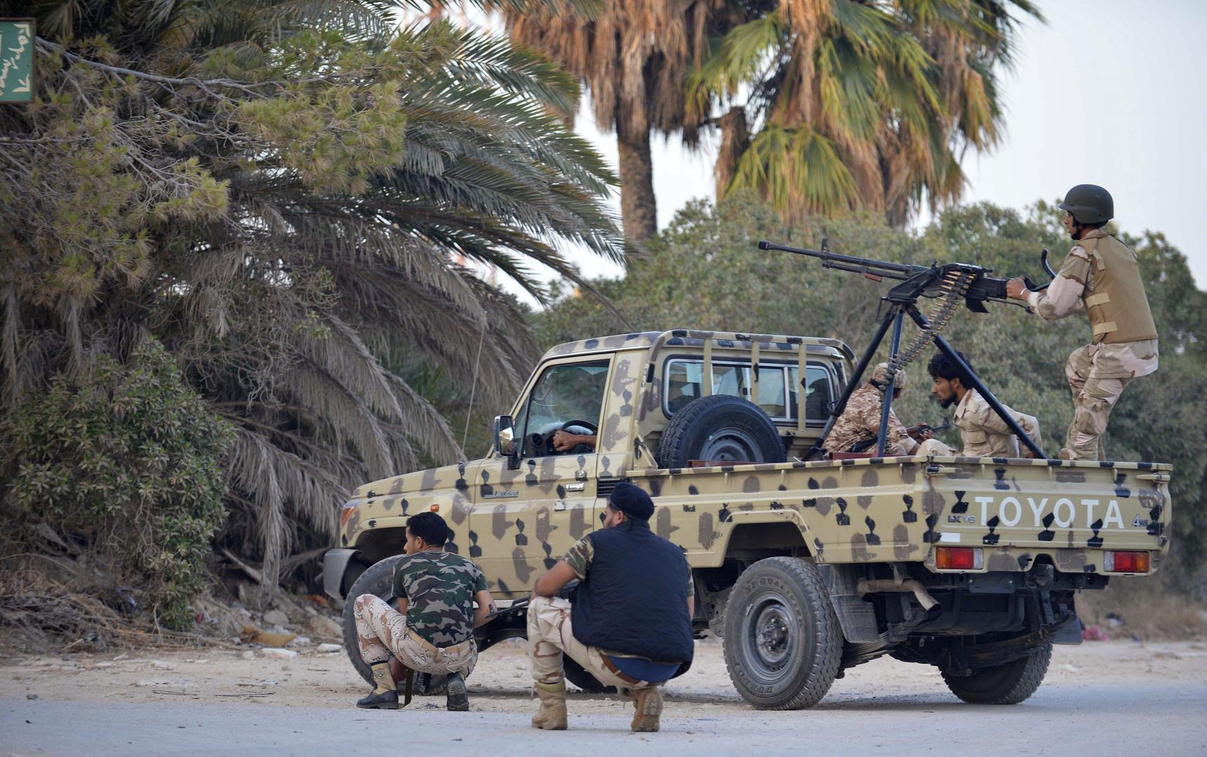 قائد ميداني في الجيش الليبي يتوعد
