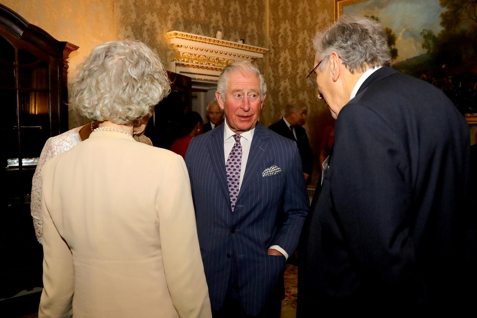 إصابة ولي العهد البريطاني الأمير تشارلز بفيروس