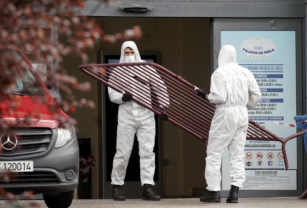 إسبانيا تتجاوز الصين في عدد الوفيات بفيروس